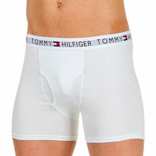 a3cbef70f7bfd Трусы мужские боксеры белые Tommy Hilfiger - купить недорого в ...